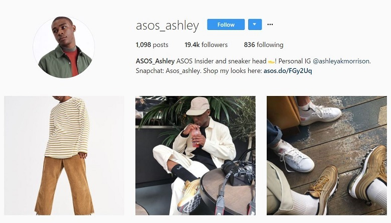 ASOS-influencer-marketing