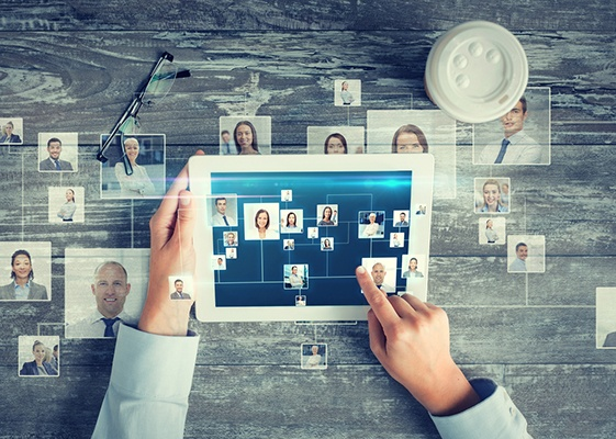 develop your network: b2b2 lead generation